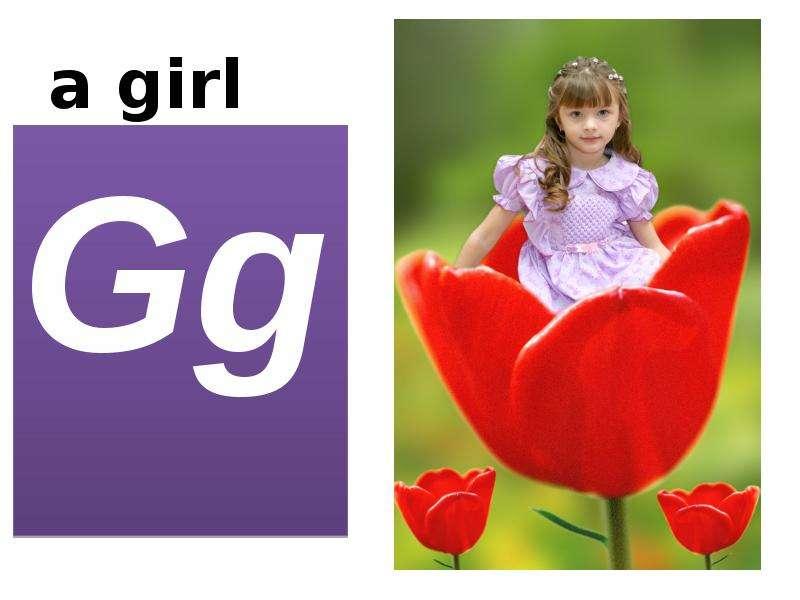 a girl Gg