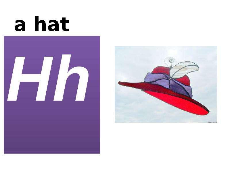 a hat Hh