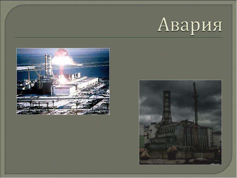 Презентация Про Чернобыль