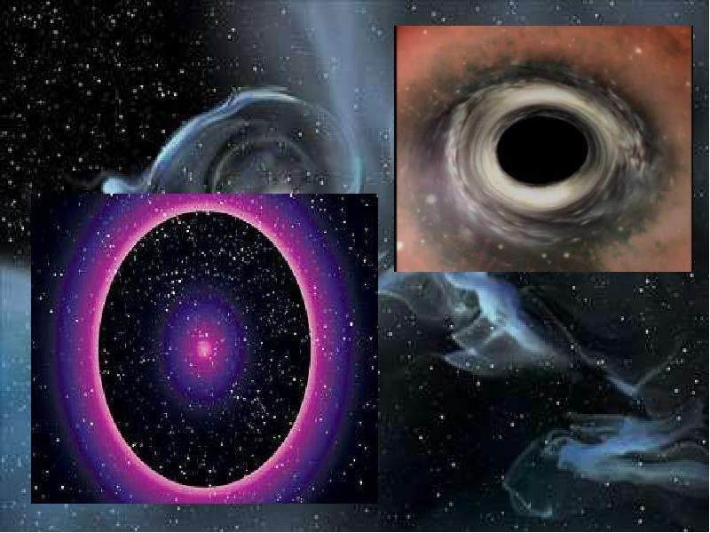 Черные дыры в космическом пространстве, слайд 20