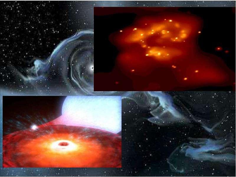 Черные дыры в космическом пространстве, слайд 22