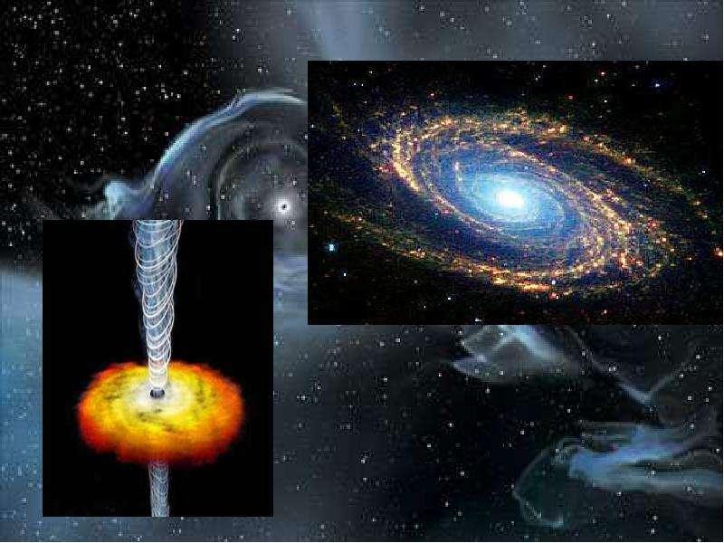 Черные дыры в космическом пространстве, слайд 24
