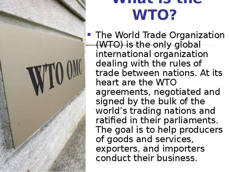 international business gatt to wto Role of gatt in promoting international trade there is less trade barriers in doing international business which will (gatt) by the wto heightened concern.