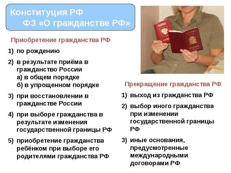 Гражданство детей порядок изменения гражданства детей буду