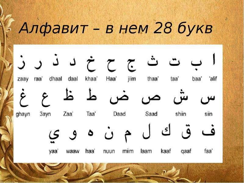 арабский алфавит на русском в картинках винограда разных странах