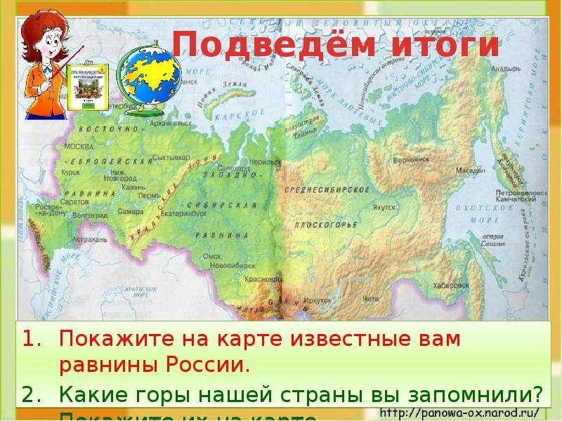 Равнины и горы России, слайд 19