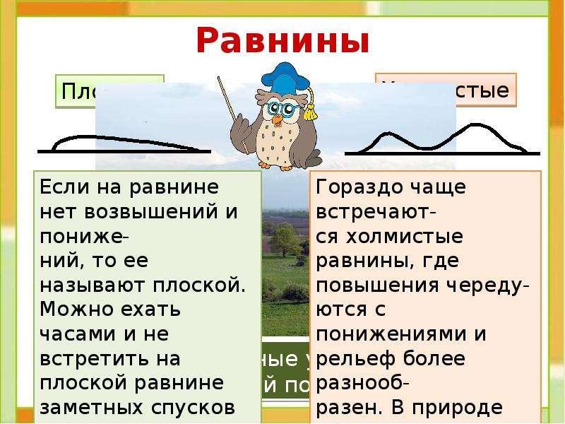 Равнины