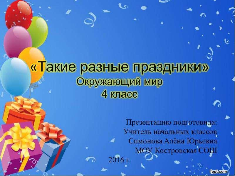 Шаблоны для поздравлений с днем рождения презентация