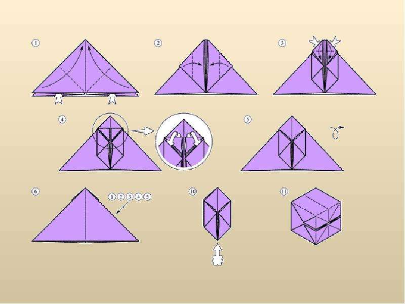 Поделки оригами из бумаги своими руками