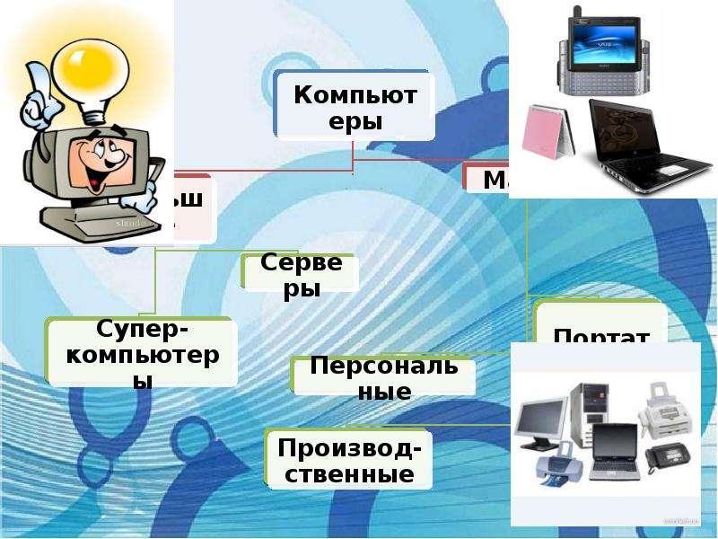 Классификация компьютеров по функциональным возможностям, слайд 5