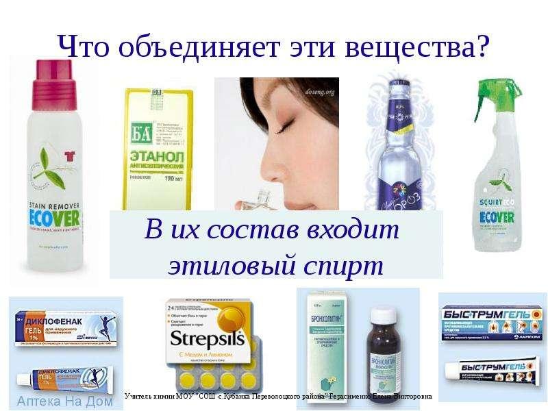 Презентация Этиловый спирт и его влияние на здоровье человека