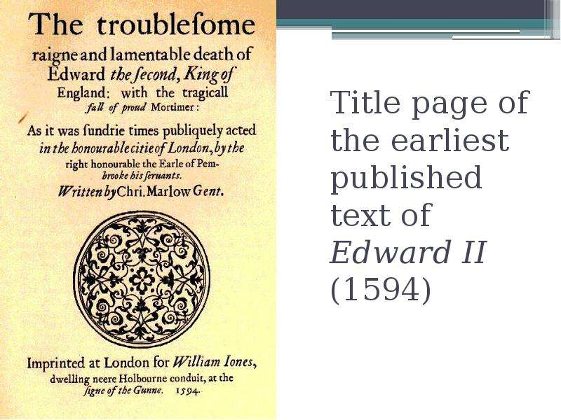 edward ii essay Professional essays on edward ii: the troublesome reign and lamentable end of edward the second, king of england, with the tragical fall of proud mortimer.