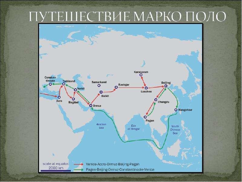 География в эпоху Средневековья, слайд 9