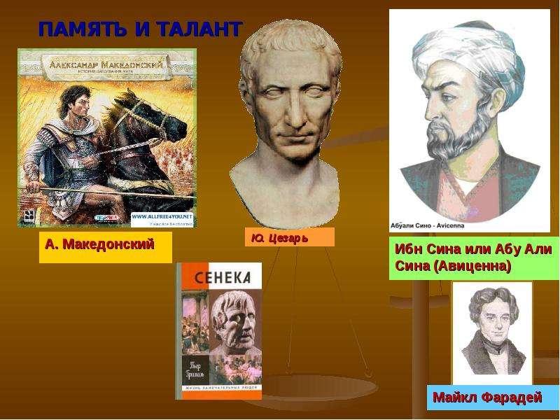 ПАМЯТЬ И ТАЛАНТ Ю. Цезарь