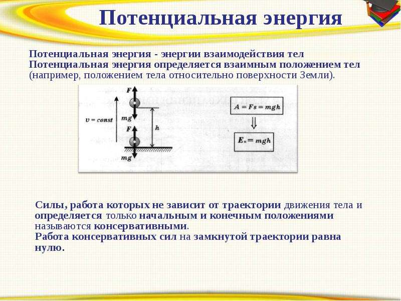 Энергия. Законы сохранения в механике, рис. 4