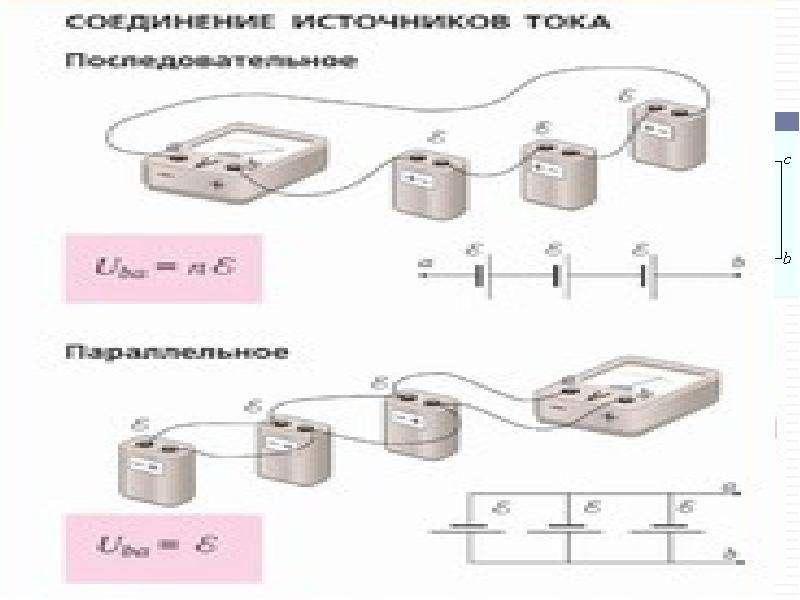 Закон Ома для полной электрической цепи Обобщенный закон Ома (Закон Ома для участка цепи, содержащег
