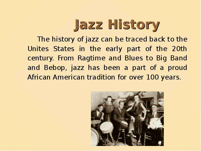a history of jazz in the united states