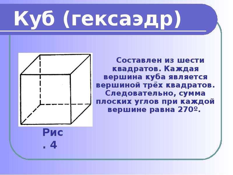 Куб (гексаэдр)