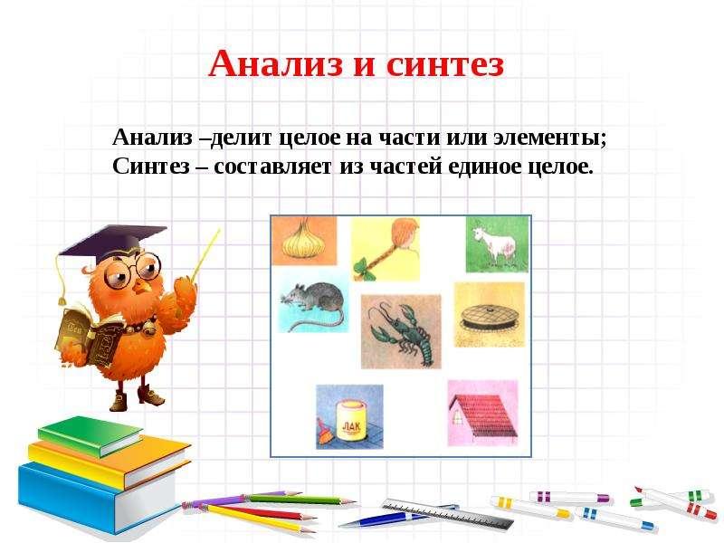 Мыслительные операции, слайд 3