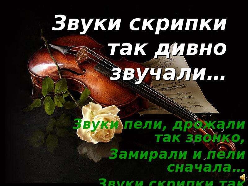 стихи учителю скрипки предлагали размещать