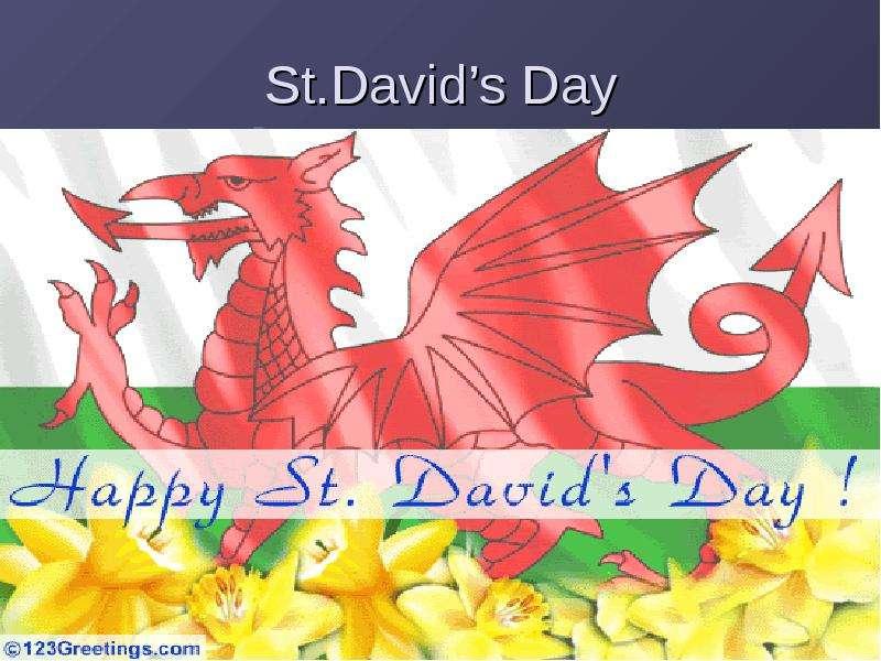 St. David's Day