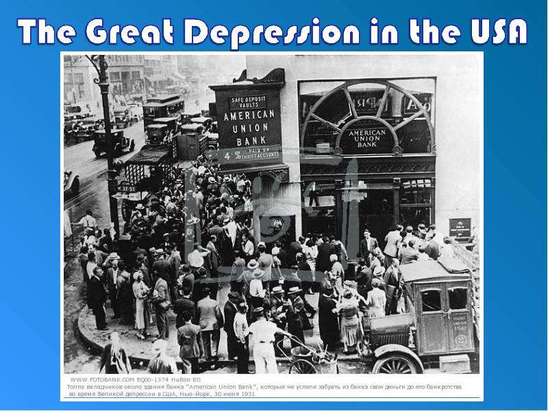 an analysis of the effects of the great depression in the united states The great depression in who analyzed the great depression in the united states few in the remaining part of the paper we will concentrate our analysis on the.