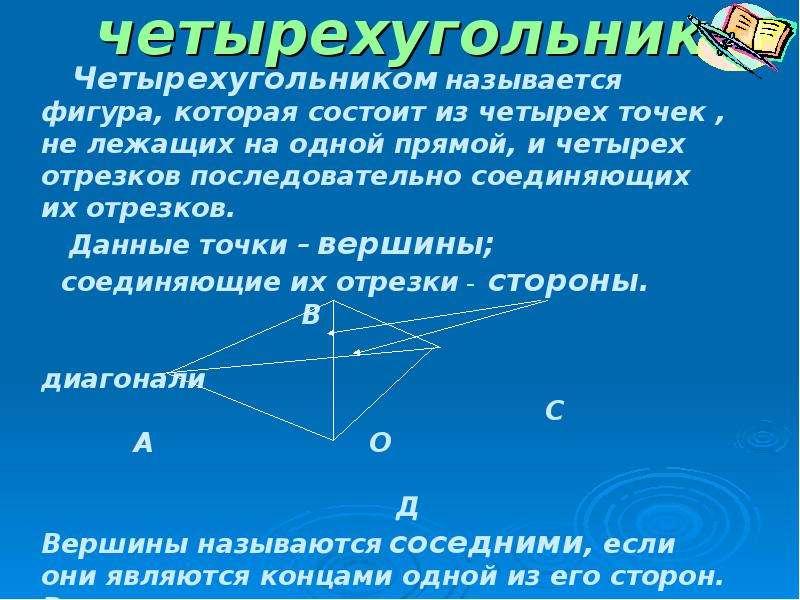 Четырехугольники вокруг нас, слайд 6