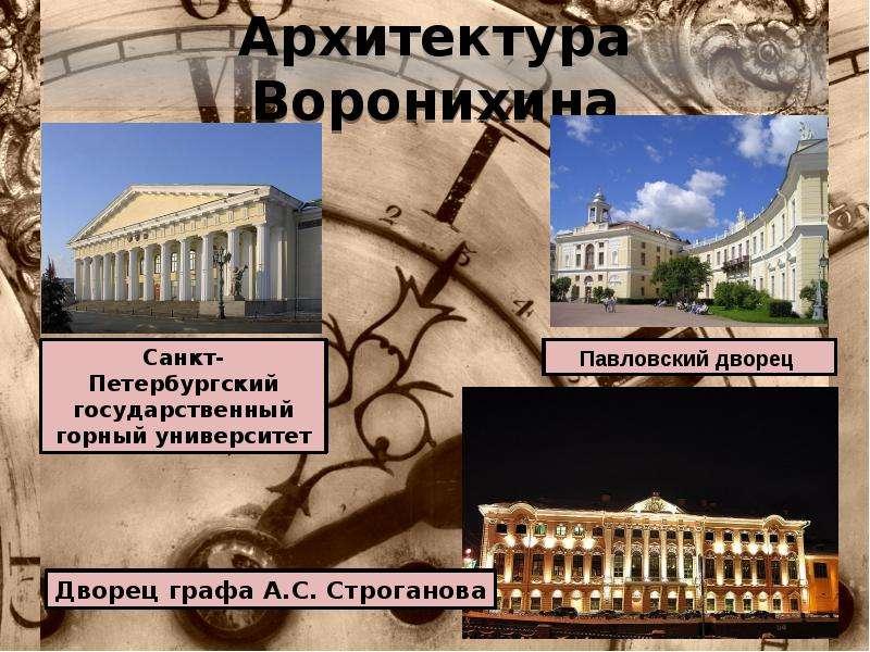 Архитектура Воронихина