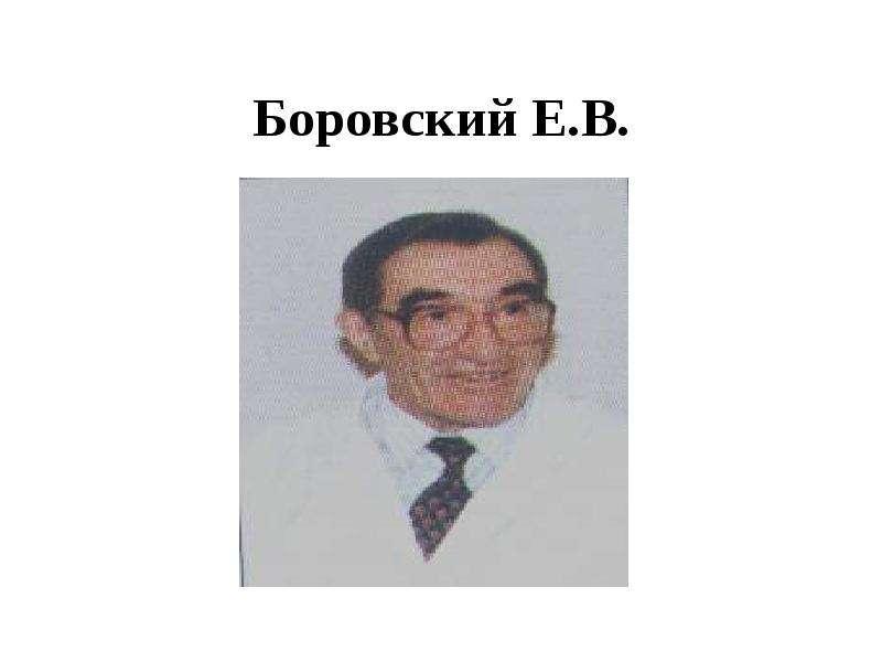 Боровский Е. В.