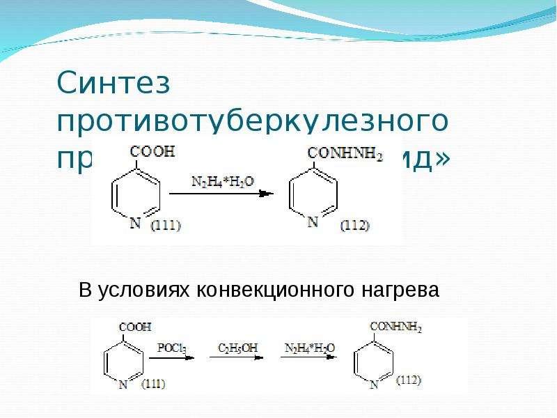 Синтез противотуберкулезного препарата «Изониазид»