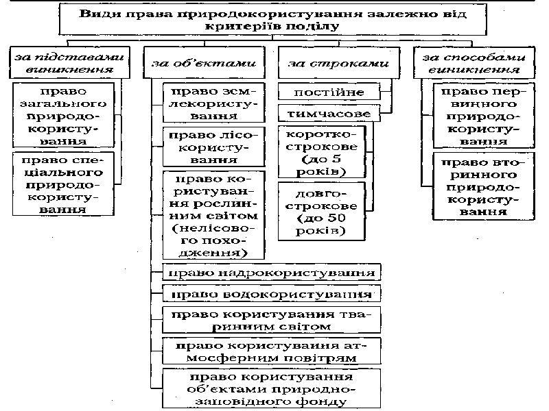 Поняття права природокористування, слайд 10