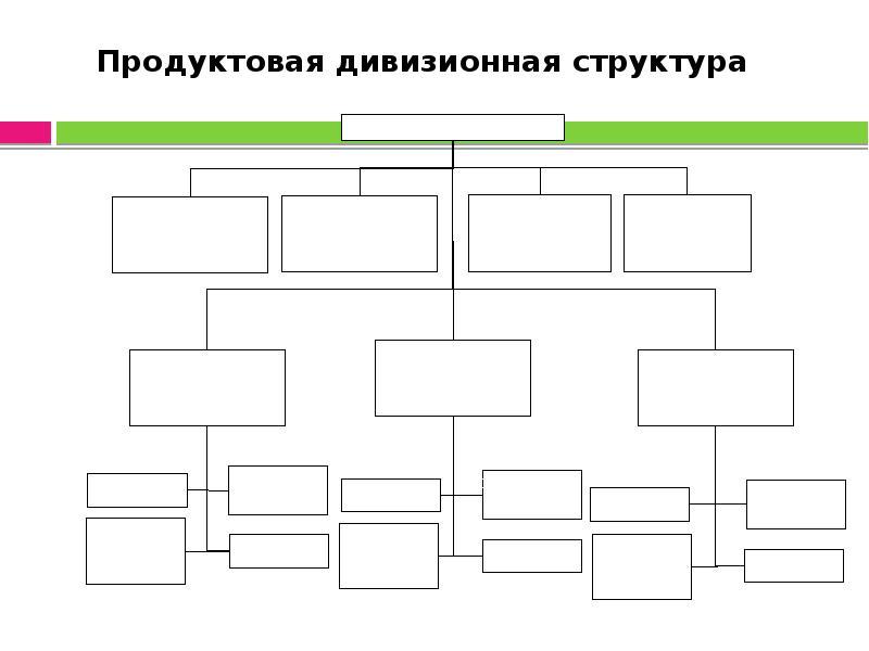 Продуктовая дивизионная структура