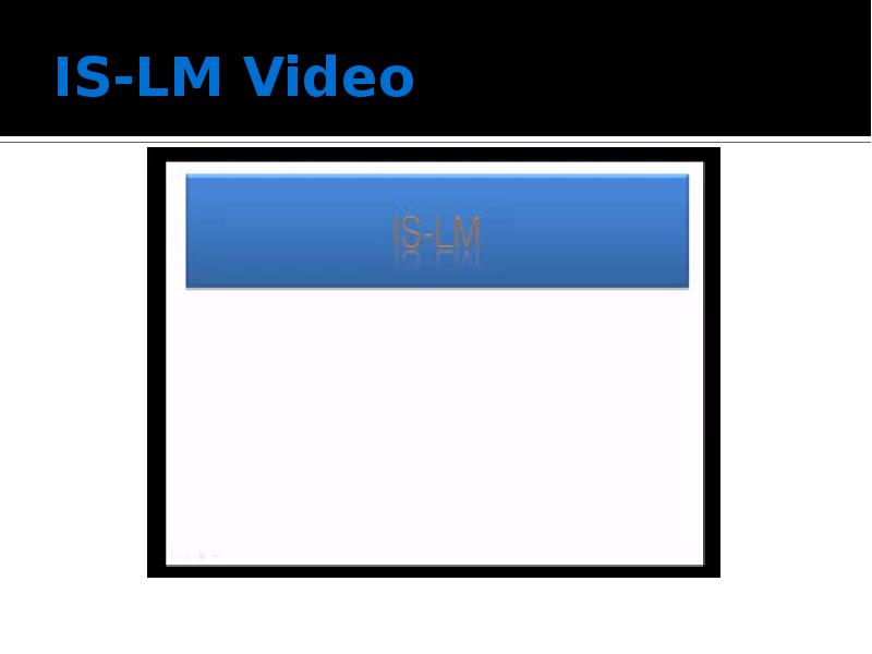 IS-LM Video