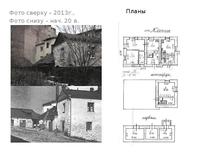 Фото сверху – 2013г. , Фото сверху – 2013г. , Фото снизу – нач. 20 в.