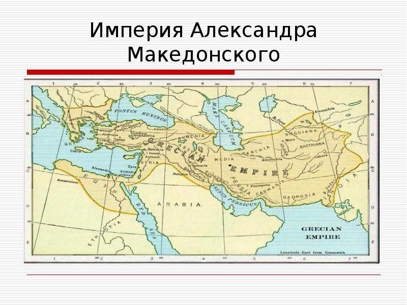 Империя александра македонского реферат 6392