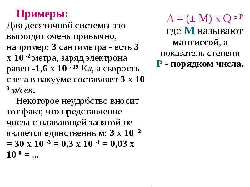 Кодирование Вещественных (Действительных) Чисел, рис. 7