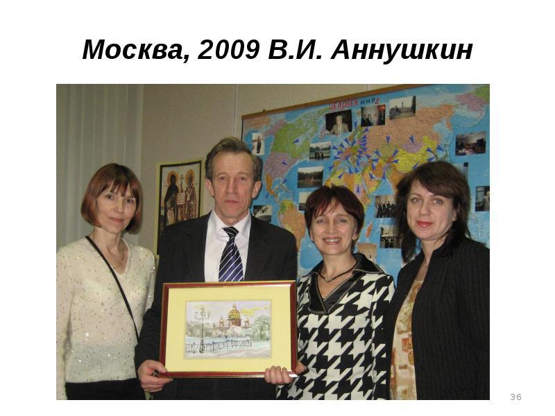 Москва, 2009 В. И. Аннушкин