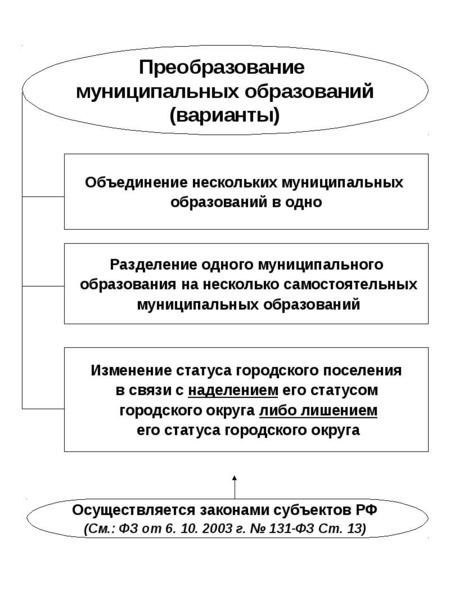 Опорные конспекты по курсу муниципального управления, слайд 45