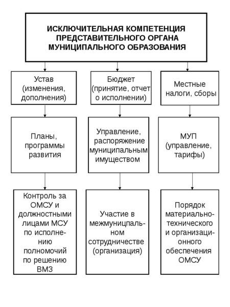 Опорные конспекты по курсу муниципального управления, слайд 51