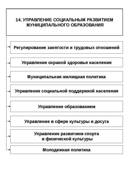 Опорные конспекты по курсу муниципального управления, слайд 85