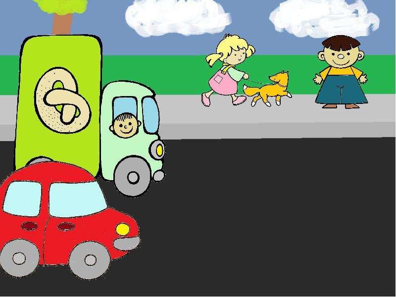 Правила дорожного движения детям: «Помни правила движенья как таблицу умноженья», слайд 11