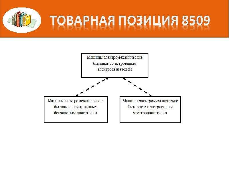 Правила интерпретации. Алгоритм последовательного включения конкретного товара в определенную позицию классификации, слайд 12