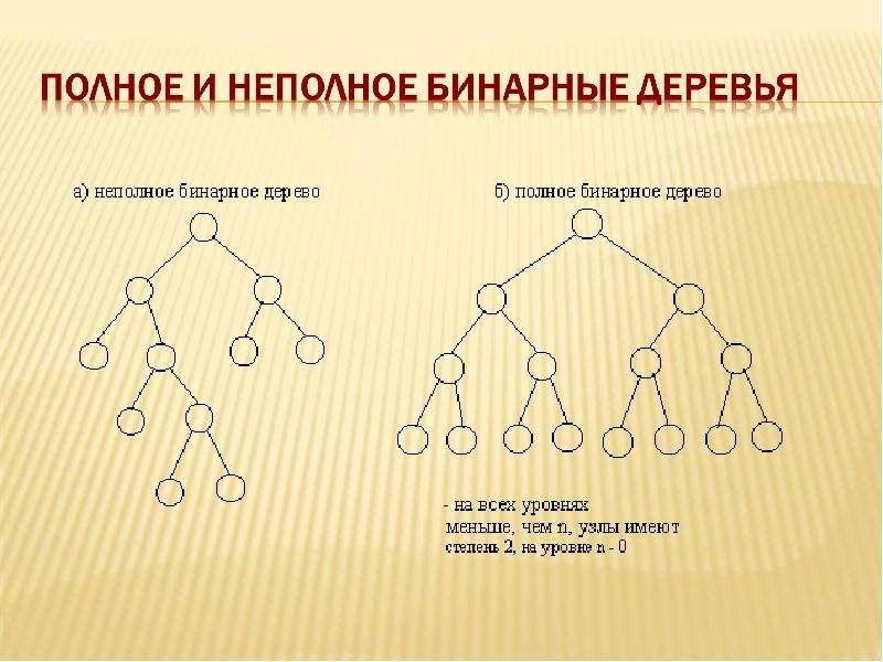 Основные операции с бинарными деревьями, слайд 7