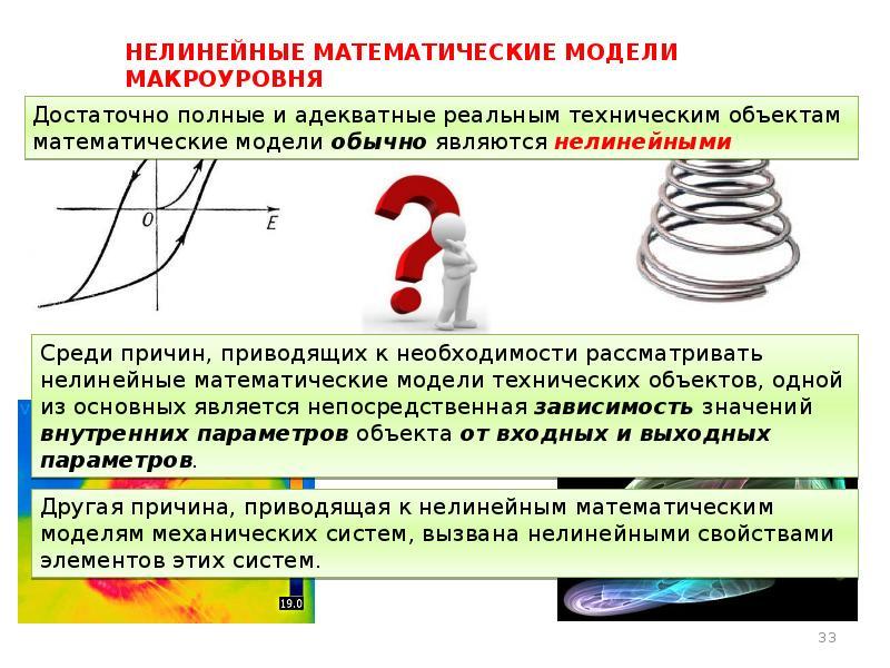 Нелинейные математические модели макроуровня