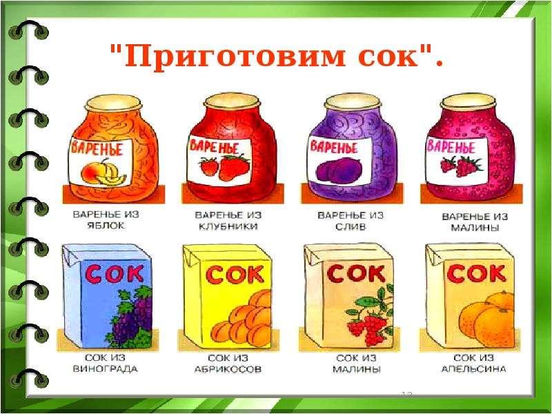 """Приготовим сок""."