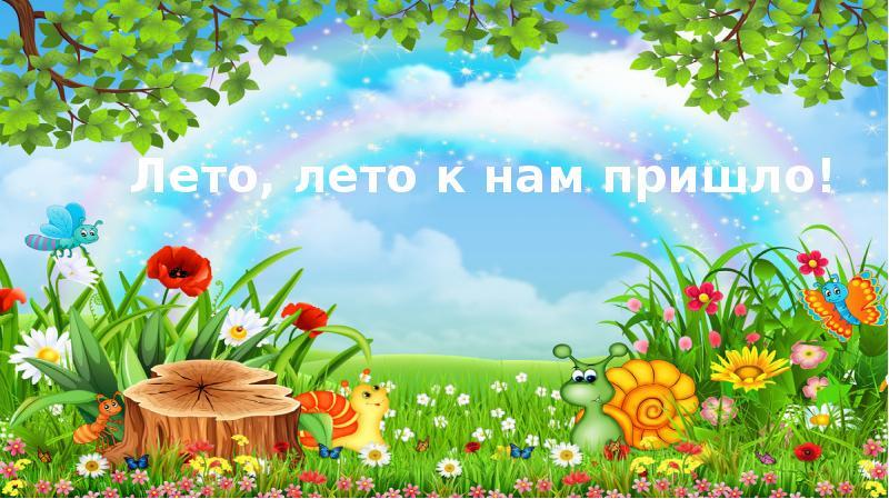 Лето, лето к нам пришло!