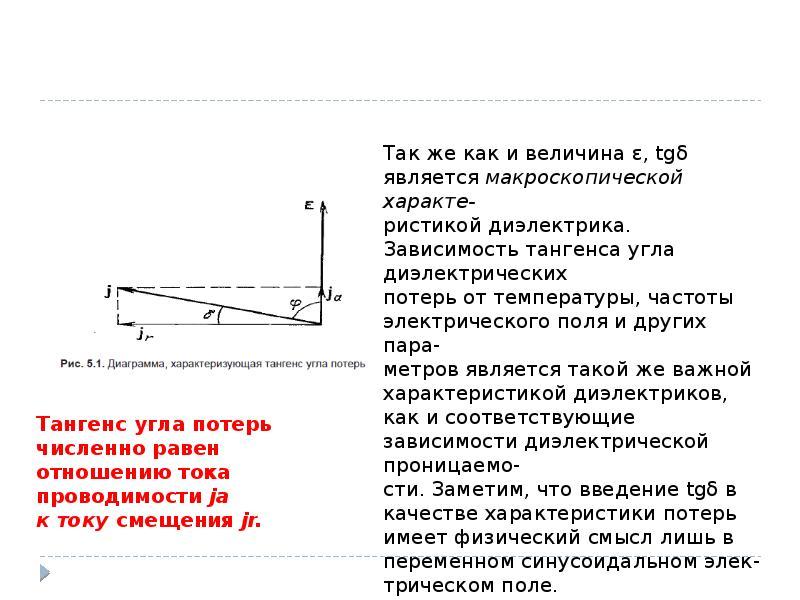 Диэлектрические потери и диэлектрическая спектроскопия, слайд 4