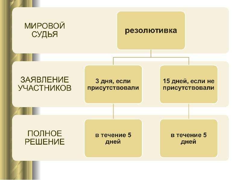 Постановления суда первой инстанции, слайд 16