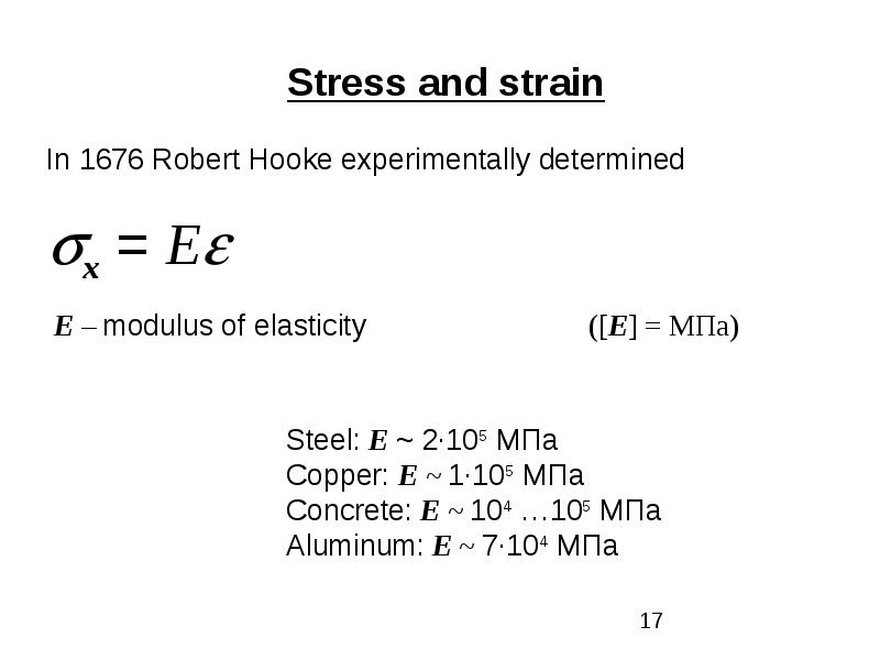 Classification of external forces. Method of section. Stress, рис. 17