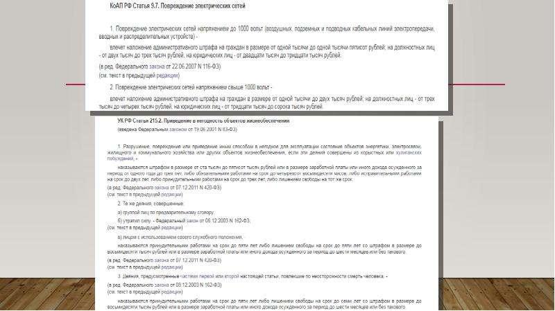 Административные правонарушения в промышленности, строительстве и энергетике, слайд 3